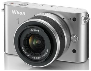 Nikon 1 J1 Kit VR 10-30 silber (item no. 90432173) - Picture #3