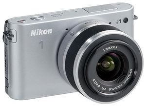 Nikon 1 J1 Kit VR 10-30 silber (item no. 90432173) - Picture #4