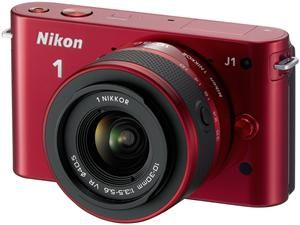 Nikon 1 J1 Kit VR 10-30 rot (Article no. 90432174) - Picture #4
