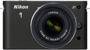 Nikon 1 J1 Kit 10 Pancake schwarz (Article no. 90432175) - Picture #4