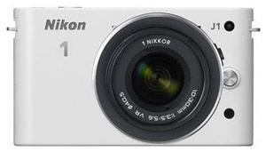 Nikon 1 J1 Kit 10 Pancake weiss (Article no. 90432176) - Picture #1