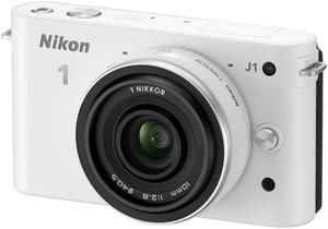 Nikon 1 J1 Kit 10 Pancake weiss (Article no. 90432176) - Picture #3