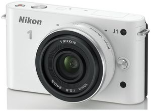 Nikon 1 J1 Kit 10 Pancake weiss (Article no. 90432176) - Picture #4
