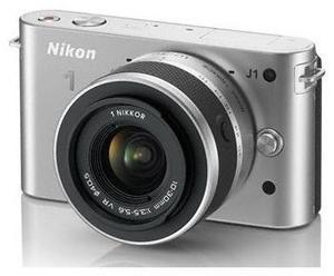 Nikon 1 J1 Kit 10 Pancake silber (Article no. 90432177) - Picture #2