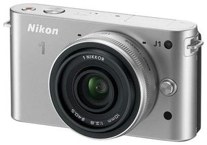 Nikon 1 J1 Kit 10 Pancake silber (Article no. 90432177) - Picture #5