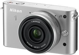 Nikon 1 J1 Kit 10 Pancake silber (Article no. 90432177) - Picture #3