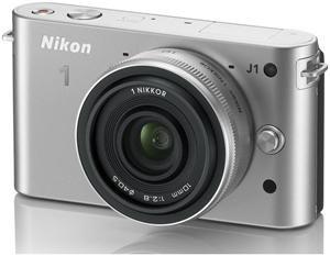 Nikon 1 J1 Kit 10 Pancake silber (Article no. 90432177) - Picture #4