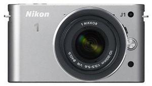 Nikon 1 J1 Kit 10 Pancake silber (Article no. 90432177) - Picture #1