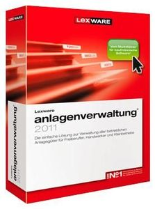 Lexware Anlagenverwaltung 2011 Update (item no. 90433020) - Picture #1