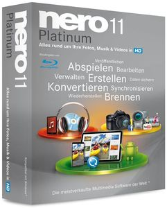 Nero 11 Platinum Multilingual Windows, multilingual, 1 Benutzer (Article no. 90433492) - Picture #1
