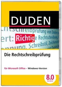 Duden Korrektor 8.0 Rechtschreibprüfung für MS Office  , Windows (Article no. 90433993) - Picture #1