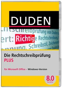 Duden Die Rechtschreibprfung PLUS (item no. 90433998) - Picture #1