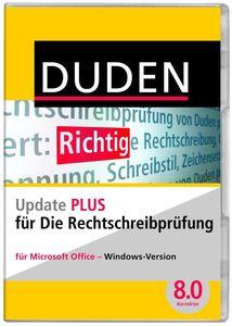 Duden Die Rechtschreibprüfung Update PLUS, (Article no. 90433999) - Picture #1