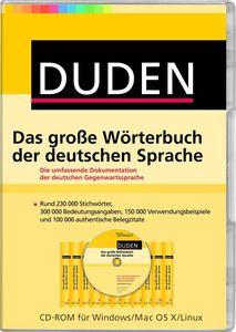 Duden Das große Wörterbuch der deutschen Sprache, (Article no. 90434000) - Picture #1