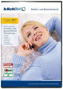 klickTel Telefon-/Branchenbuch Frühjahr 2011, (Article no. 90434112) - Picture #1