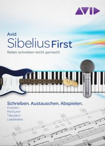 Pinnacle Avid Sibelius 6 First Windows/Mac OS X, deutsch (Art.-Nr. 90434246) - Bild #1