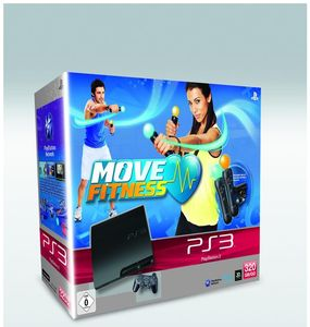 Sony PlayStation 3 slim 320 GB (K-Model) Move Fitness incl. Move Starter Pack (Article no. 90434431) - Picture #1
