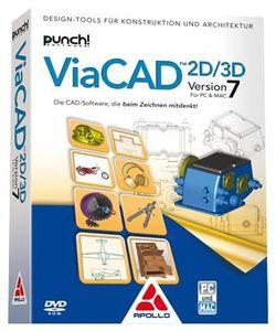Apollo ViaCAD 2D/3D Version 7 , (Article no. 90434829) - Picture #1
