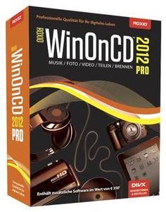 Roxio WinOnCD 2012 PRO (Article no. 90434895) - Picture #1