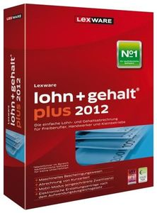 Lexware lohn+gehalt plus 2012 Version 16.00,  Windows, deutsch, (Article no. 90435547) - Picture #1