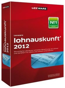 Lexware lohnauskunft 2012 Update Version 20.00,  Windows, deutsch, (Article no. 90435550) - Picture #1
