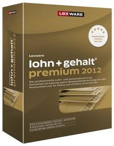 Lexware lohn+gehalt premium 2012 Update Version 12.00,  Windows, deutsch, (Article no. 90435575) - Picture #2