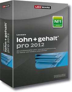 Lexware lohn+gehalt pro 2012 Update Version 12.00,  Windows, deutsch