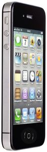 Apple iPhone 4S Apple iOS, Smartphone  in black  with 16.0 GB storage