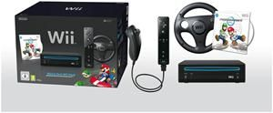 Nintendo Wii Mario Kart Pack schwarz (item no. 90436452) - Picture #2