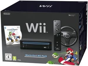 Nintendo Wii Mario Kart Pack schwarz (item no. 90436452) - Picture #1