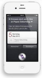 Apple iPhone 4S 16GB iOS weiß (Art.-Nr. 90436708) - Bild #5