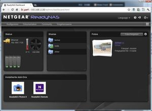 Netgear ReadyNAS Duo v2 (Article no. 90436790) - Picture #4