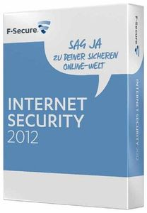 F-Secure Internet Security 2012 1 Jahr, 5 User, Windows (Article no. 90436810) - Picture #1