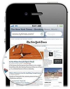 Apple iPhone 4S 64GB iOS schwarz (Article no. 90437148) - Picture #5