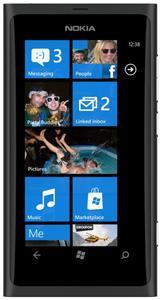 Nokia Lumia 800 WP7 schwarz (Art.-Nr. 90437391) - Bild #2