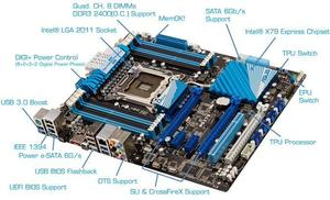 ASUS P9X79 Sockel 2011 ATX (Article no. 90438505) - Picture #4