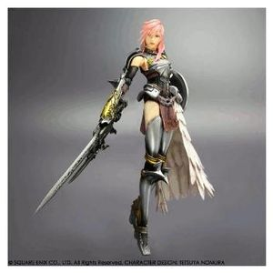 Action Figur Final Fantasy XIII-2 Lightning, (Article no. 90439006) - Picture #1
