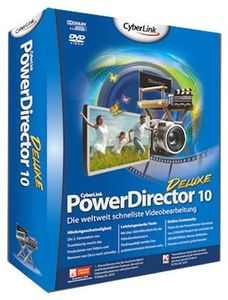 CyberLink PowerDirector 10 Deluxe Upg (item no. 90439039) - Picture #1