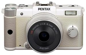 Pentax Q 47mm + 28-83mm Kit weiss (item no. 90439057) - Picture #5
