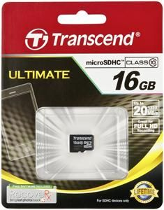 Transcend microSDHC Karte 16GB (Art.-Nr. 90439350) - Bild #1