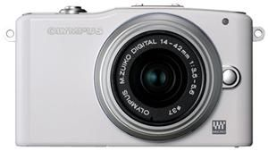 Olympus Pen E-PM1 weiss Kit 14-42 + 40-150 (item no. 90439479) - Picture #3
