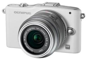 Olympus Pen E-PM1 weiss Kit 14-42 + 40-150 (item no. 90439479) - Picture #4