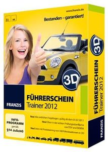 Franzis 3D Führerschein-Trainer 2012 (Article no. 90439650) - Picture #1