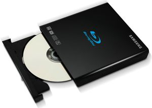 Samsung SE-506AB Slim schwarz USB2.0, BD-ROM 6x, BD-ROM DL 6x, DVD+/-R (Article no. 90440688) - Picture #1