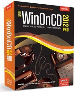 Roxio WinONCD 2012 Pro Deutsche Version (Article no. 90440997) - Picture #1