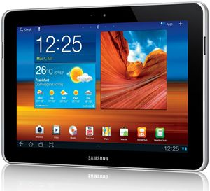 Samsung Galaxy Tab 10.1N 3G 32GB Android weiss (item no. 90440524) - Picture #1