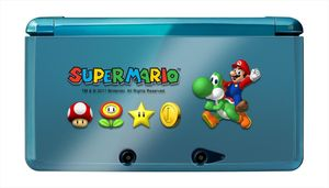 Hori 3DS Mario Protector & Skin Set (item no. 90443223) - Picture #2