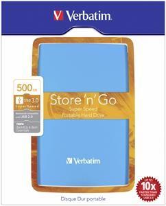 Verbatim Store ´n´ Go USB3.0 500GB blau (Article no. 90443254) - Picture #4