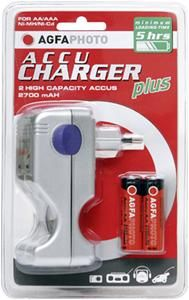 AgfaPhoto AccuCharger plus Ladegerät (item no. 90443560) - Picture #1