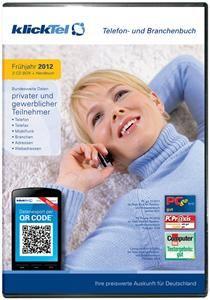 klickTel Telefon- und Branchenbuch Frühjahr 2012,  Windows, deutsch (Article no. 90444807) - Picture #1
